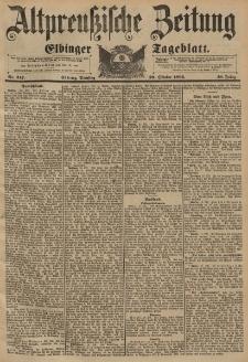 Altpreussische Zeitung, Nr. 247 Dienstag 20 Oktober 1896, 48. Jahrgang