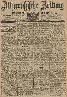 Altpreussische Zeitung, Nr. 249 Donnerstag 22 Oktober 1896, 48. Jahrgang
