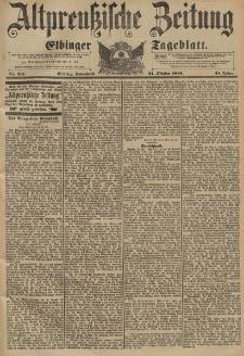 Altpreussische Zeitung, Nr. 251 Sonnabend 24 Oktober 1896, 48. Jahrgang