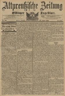 Altpreussische Zeitung, Nr. 252 Sonntag 25 Oktober 1896, 48. Jahrgang