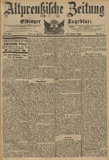Altpreussische Zeitung, Nr. 256 Freitag 30 Oktober 1896, 48. Jahrgang