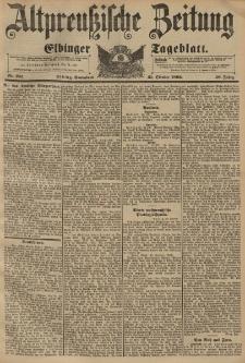 Altpreussische Zeitung, Nr. 257 Sonnabend 31 Oktober 1896, 48. Jahrgang