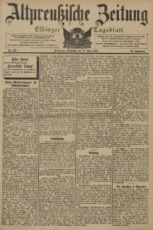 Altpreussische Zeitung, Nr. 122 Mittwoch 27 Mai 1903, 55. Jahrgang