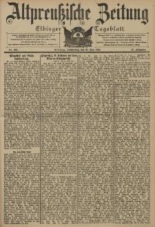 Altpreussische Zeitung, Nr. 123 Donnerstag 28 Mai 1903, 55. Jahrgang
