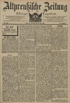 Altpreussische Zeitung, Nr. 124 Freitag 29 Mai 1903, 55. Jahrgang