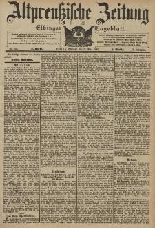 Altpreussische Zeitung, Nr. 126 Sonntag 31 Mai 1903, 55. Jahrgang