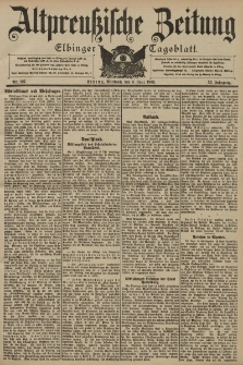 Altpreussische Zeitung, Nr. 127 Mittwoch 3 Juni 1903, 55. Jahrgang