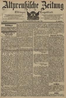 Altpreussische Zeitung, Nr. 128 Donnerstag 4 Juni 1903, 55. Jahrgang