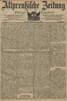 Altpreussische Zeitung, Nr. 129 Freitag 5 Juni 1903, 55. Jahrgang