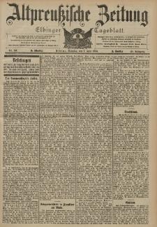 Altpreussische Zeitung, Nr. 131 Sonntag 7 Juni 1903, 55. Jahrgang