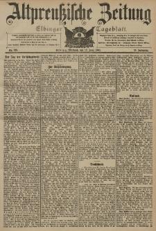 Altpreussische Zeitung, Nr. 133 Mittwoch 10 Juni 1903, 55. Jahrgang