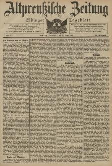 Altpreussische Zeitung, Nr. 134 Donnerstag 11 Juni 1903, 55. Jahrgang
