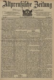Altpreussische Zeitung, Nr. 135 Freitag 12 Juni 1903, 55. Jahrgang