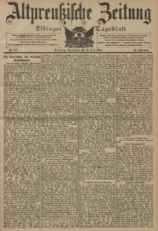 Altpreussische Zeitung, Nr. 136 Sonnabend 13 Juni 1903, 55. Jahrgang