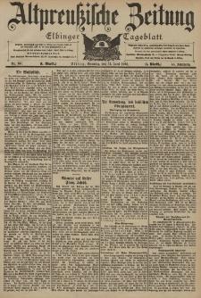 Altpreussische Zeitung, Nr. 137 Sonntag 14 Juni 1903, 55. Jahrgang