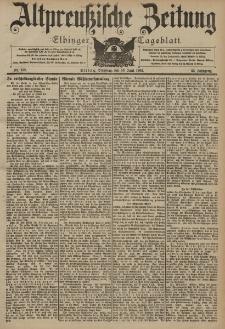 Altpreussische Zeitung, Nr. 138 Dienstag 16 Juni 1903, 55. Jahrgang