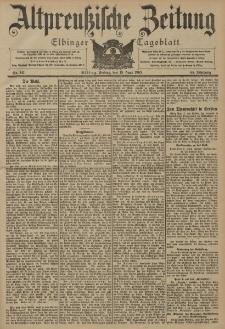 Altpreussische Zeitung, Nr. 141 Freitag 19 Juni 1903, 55. Jahrgang