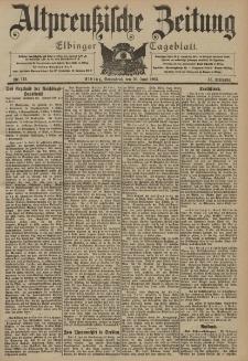 Altpreussische Zeitung, Nr. 142 Sonnabend 20 Juni 1903, 55. Jahrgang