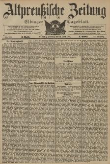 Altpreussische Zeitung, Nr. 143 Sonntag 21 Juni 1903, 55. Jahrgang