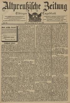 Altpreussische Zeitung, Nr. 147 Freitag 26 Juni 1903, 55. Jahrgang