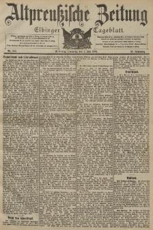 Altpreussische Zeitung, Nr. 156 Dienstag 7 Juli 1903, 55. Jahrgang