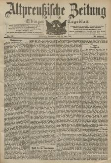 Altpreussische Zeitung, Nr. 166 Sonnabend 18 Juli 1903, 55. Jahrgang