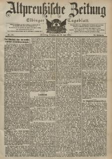 Altpreussische Zeitung, Nr. 168 Dienstag 21 Juli 1903, 55. Jahrgang