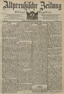 Altpreussische Zeitung, Nr. 170 Donnerstag 23 Juli 1903, 55. Jahrgang