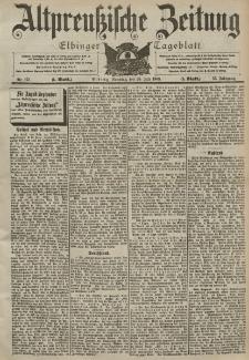 Altpreussische Zeitung, Nr. 173 Sonntag 26 Juli 1903, 55. Jahrgang