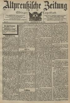 Altpreussische Zeitung, Nr. 176 Donnerstag 30 Juli 1903, 55. Jahrgang