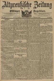 Altpreussische Zeitung, Nr. 258 Sonntag 1 November 1896, 48. Jahrgang