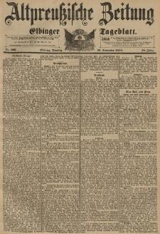 Altpreussische Zeitung, Nr. 265 Dienstag 10 November 1896, 48. Jahrgang