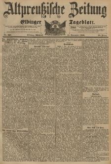 Altpreussische Zeitung, Nr. 266 Mittwoch 11 November 1896, 48. Jahrgang