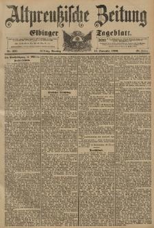 Altpreussische Zeitung, Nr. 270 Sonntag 15 November 1896, 48. Jahrgang