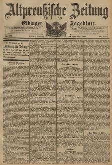 Altpreussische Zeitung, Nr. 276 Dienstag 24 November 1896, 48. Jahrgang
