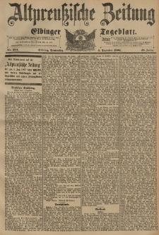 Altpreussische Zeitung, Nr. 284 Donnerstag 3 Dezember 1896, 48. Jahrgang