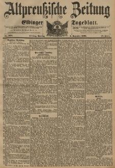 Altpreussische Zeitung, Nr. 288 Dienstag 8 Dezember 1896, 48. Jahrgang