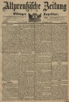 Altpreussische Zeitung, Nr. 289 Mittwoch 9 Dezember 1896, 48. Jahrgang