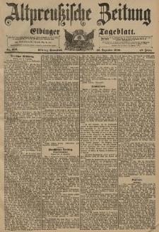Altpreussische Zeitung, Nr. 292 Sonnabend 12 Dezember 1896, 48. Jahrgang