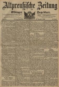 Altpreussische Zeitung, Nr. 296 Donnerstag 17 Dezember 1896, 48. Jahrgang