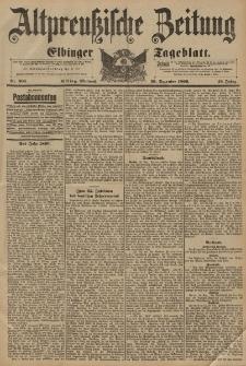 Altpreussische Zeitung, Nr. 305 Mittwoch 30 Dezember 1896, 48. Jahrgang