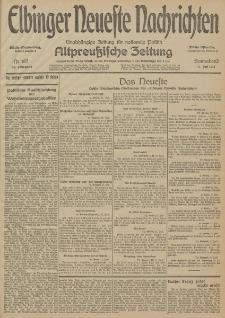 Elbinger Neueste Nachrichten, Nr. 187 Sonnabend 11 Juli 1914 66. Jahrgang