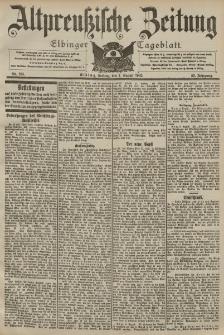 Altpreussische Zeitung, Nr. 183 Freitag 7 August 1903, 55. Jahrgang