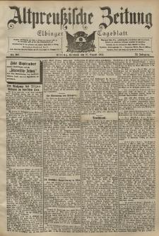 Altpreussische Zeitung, Nr. 199 Mittwoch 26 August 1903, 55. Jahrgang