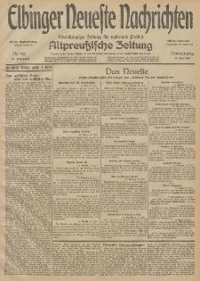 Elbinger Neueste Nachrichten, Nr. 192 Donnerstag 16 Juli 1914 66. Jahrgang