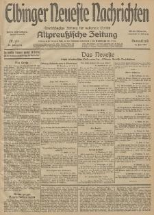 Elbinger Neueste Nachrichten, Nr. 194 Sonnabend 18 Juli 1914 66. Jahrgang