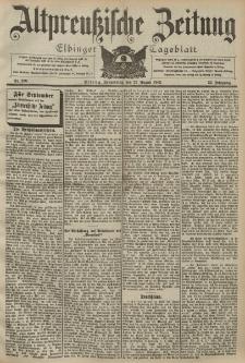 Altpreussische Zeitung, Nr. 200 Donnerstag 27 August 1903, 55. Jahrgang