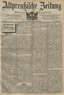 Altpreussische Zeitung, Nr. 201 Freitag 28 August 1903, 55. Jahrgang