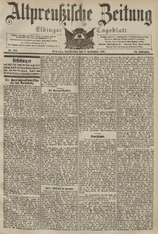 Altpreussische Zeitung, Nr. 206 Donnerstag 3 September 1903, 55. Jahrgang