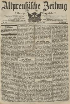 Altpreussische Zeitung, Nr. 207 Freitag 4 September 1903, 55. Jahrgang